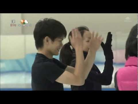 Mao Asada & Takahiko Kozuka  - Can't  take my eyes off of you -