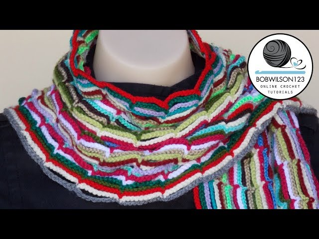 Easy Scarf / Belt / Headband Crochet Tutorial