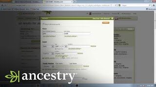 How to Control Your Ancestry.com Search Results | Ancestry