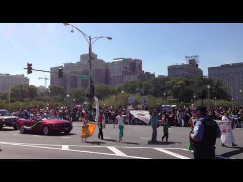 Desfile de la Indenpendencia de Mexico 2012 - Club Chichihualco en Chicago
