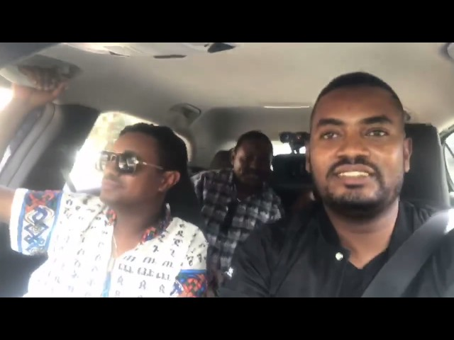 Teddy Afro's Trip to Legetafo With CCTV's Gerum Chala