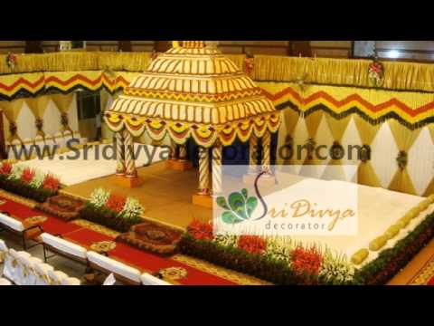 Stage Decoration For South Indian Wedding Wedding Stage Decorators in