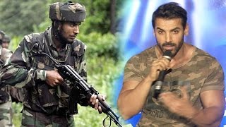 John Abraham's Powerfull Patriotic Speech Supporting Indian Army's Surgical Attack On Pakistan