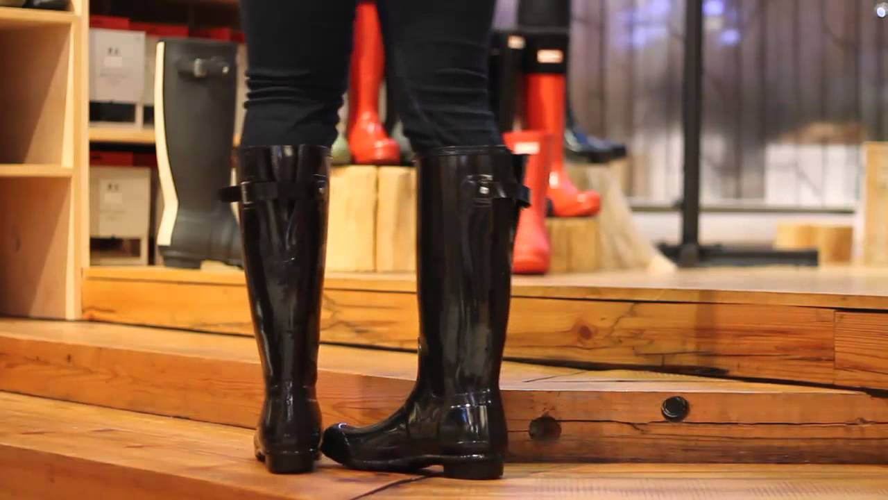 Hunter Tall Back Adjustable In Black Gloss Youtube