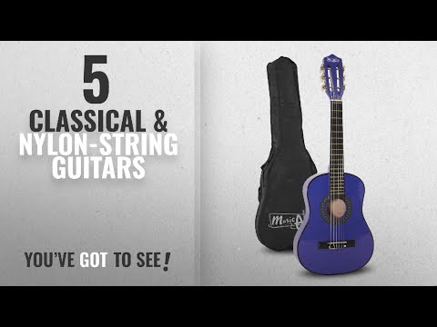 """Top 10 Classical & Nylon-String Guitars [2018]: Music Alley MA-52 30"""" Half Size Junior Guitar For"""