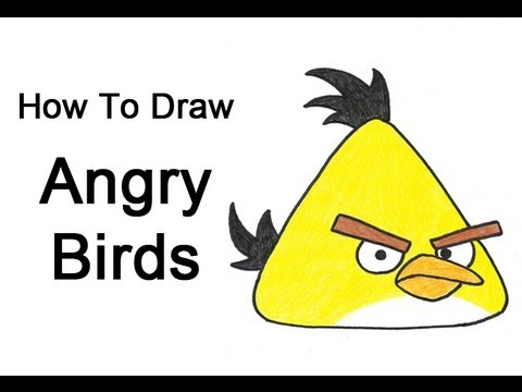 Scary Birds Drawing How to Draw Angry Birds