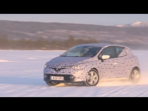 2013 Renault Clio 4: Cold tests