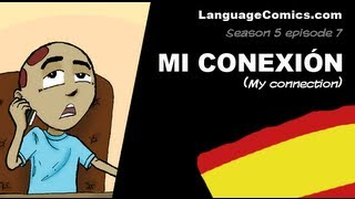 Cartoon in Spanish with English subtitles ~ S5e7