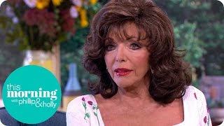 Dame Joan Collins Emotionally Talks About Her Sister Jackie | This Morning