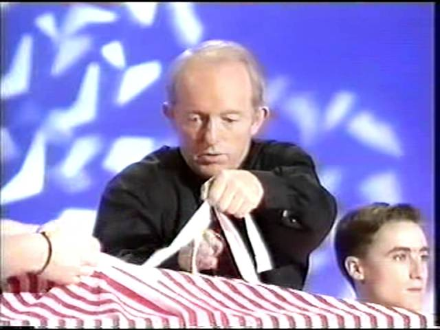 Paul Daniels metamorphosis illusion.