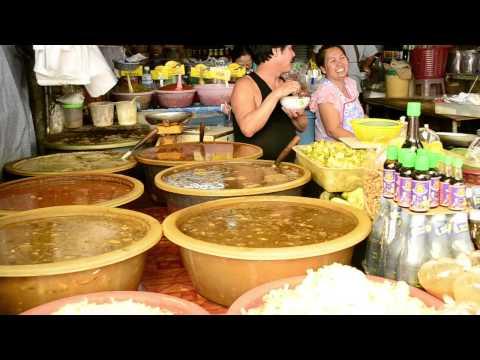 Рынок в Бангкоке.