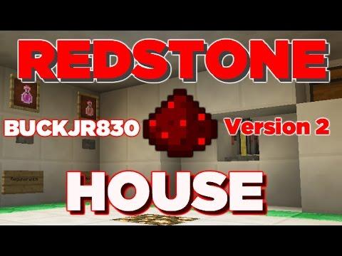 Minecraft 1.8: Improved Redstone House: