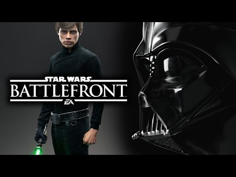 Star Wars Battlefront 3 2015 News: Heroes & Villains! Luke Skywalker & Darth Vader Gameplay Info