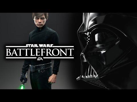 Star Wars Battlefront 3 2015 News: Heroes & Villains! Luke Skywalker & Darth Vader Gameplay Info