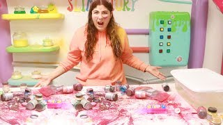 DESTROYING ALL HER SLIME PIGMENT INGREDIENTS AND GETTING HER 10,000 NEW ONES!!!!