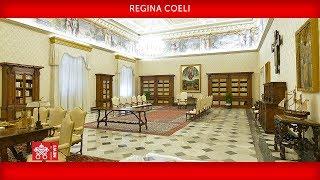 Regina Coeli 13 aprile 2020 Papa Francesco