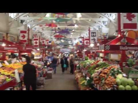 Shopping in the Farmer's Market at St. John NB