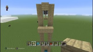 Minecraft: How to make elevator
