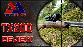 Air Arms TX200 - Air Gun Shooting & Gun Review