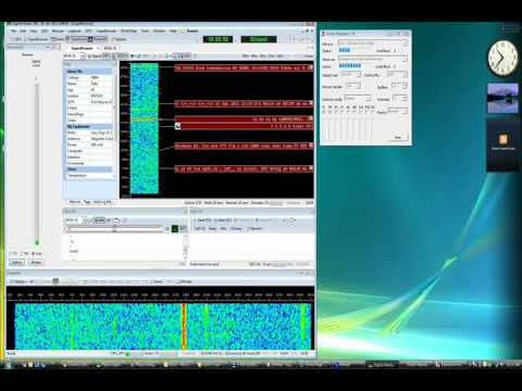 Using an LD-1B and Winrad to receive and decode PSK-31