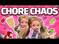 Barbie - The Twin's Chore Chaos