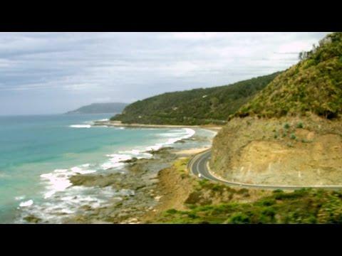 Great Ocean Road Melbourne Victoria Australia Scenery Tour Bus Drive