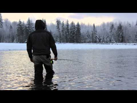 Skeena Steelhead Fly Fishing part 2 , BC 2012