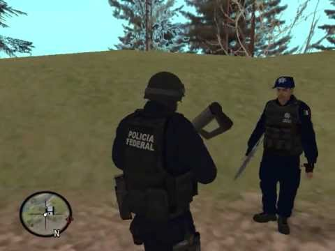 Cj entra a la policia federal - Loquendo