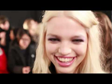Interview with model Daphne Groeneveld, New York Fashion Week FW 2012-13