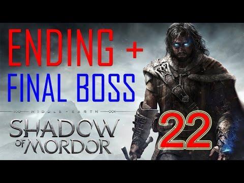 Middle Earth Shadow Of Mordor Ending Final Boss Walkthrough Part 22 Gameplay Shadow Of Mordor Ending video