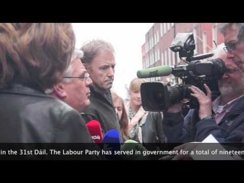 Interview With Eamon Gilmore Who Is The Leader Of The Irish Labour Party (Referendum Campaign)