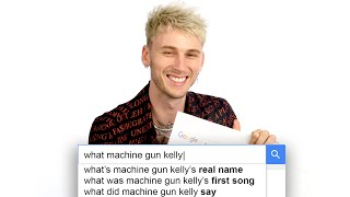 Machine Gun Kelly Answers the Web's Most Searched Questions | WIRED