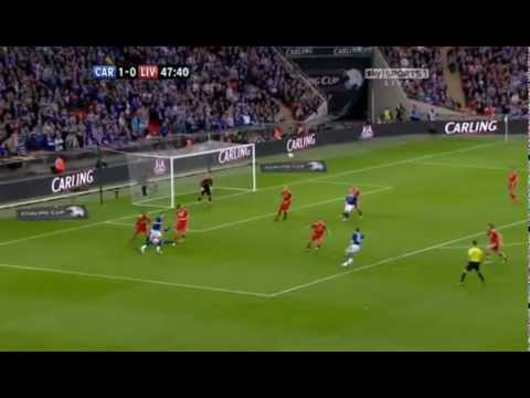 Second Half - Carling Cup Final 2012 - Cardiff City vs Liverpool FC