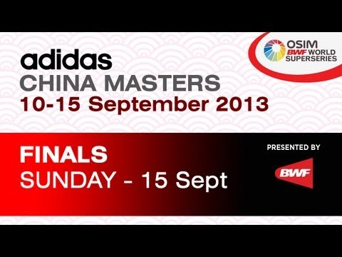 Finals - MS - Wang Zhengming vs Son Wan Ho - 2013 Adidas China Masters