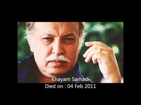 Well Known Personalities of Pakistan, Died in the Year (1994 - 2012)  A GLIMPSE