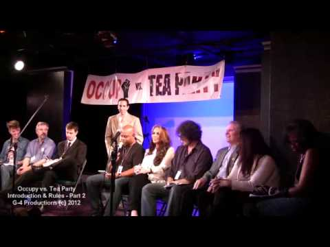 #002 / 013 - OCCUPY vs TEA PARTY Show - Introduction - Kickstarter Funded