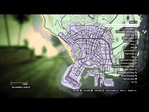GTA V: ALL 25 Purchasable Properties (Locations/Costs/Income)