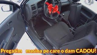 Pregatim masina pe care o dam cadou Mazda 323