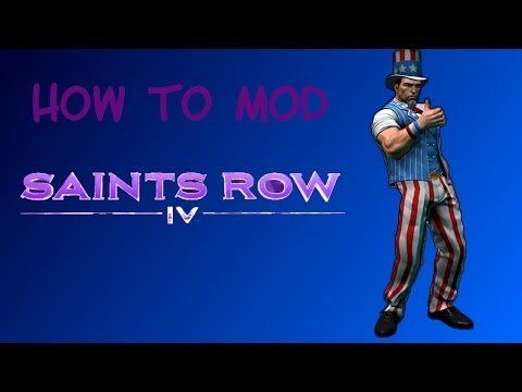 How To Mod Saints Row 4 (IV)   HD   XBOX 360   USB   TRANSFER CABLE   Easy   Fast
