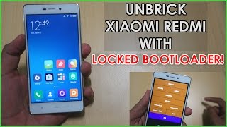 Unbrick & Flash STOCK ROM on Redmi 3/Note 3 with LOCKED BOOTLOADER! [EDL method]