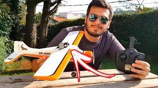 Coloquei uma Câmera num Avião de Controle Remoto! OLHA QUE LOUCO!!