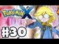 Pokemon X and Y - Gameplay Walkthrough Part 30 - Gym Leader Clemont Battle (Nintendo 3DS)