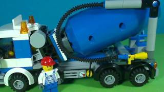 LEGO CITY CEMENT MIXER 7990