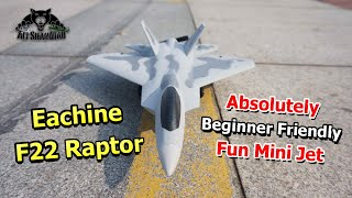 Eachine Mini F22 Raptor RC Jet best beginners Park Flyer RC Airplane