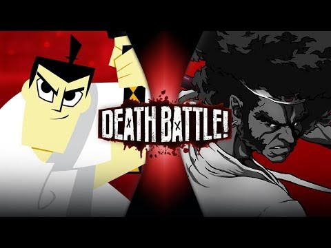 Samurai Jack VS Afro Samurai | DEATH BATTLE!