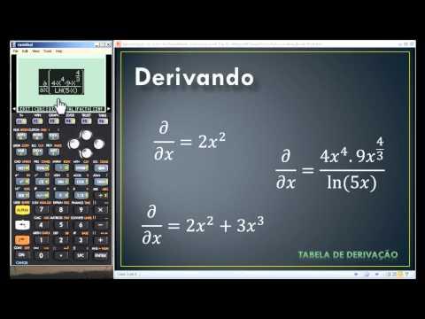 Calculando Derivadas HP 50g