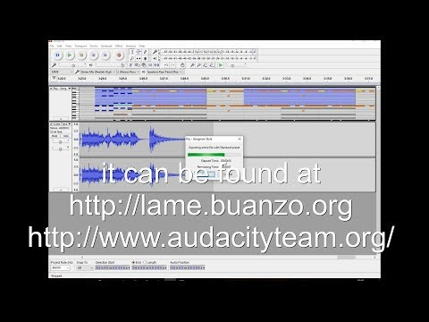Audacity convert Midi to Wav or MP3 for Free Complete Tutorial, change midi songs into wav files