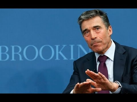 Nato chief: Crimea tensions 'greatest threat' since Cold War