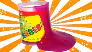 Como fazer Amoeba fácil em Casa com Detergente.