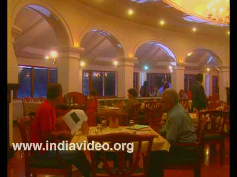 Inside view of Tea County hotel, Munnar